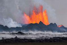 Active Volcano Photography – Tomas Freyr Kristjánsson, Fubiz