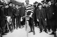 Hippolyte Aucouturier (1876-1944), French cyclist - © Maurice-Louis Branger / Roger-Viollet