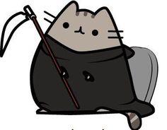Pusheeen is Luci Fur Chat Pusheen, Pusheen Stormy, Cute Cat Memes, Cat Character, Kawaii Cat, Cat Drawing, Crazy Cats, Cute Wallpapers, Cute Art