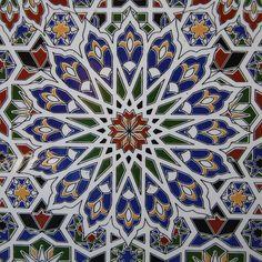 Moroccan tile design byChristine Oakley