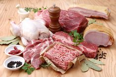 """The proper amount of protein to consume on a healthy Paleo diet and the dangers of excess protein intake. Rethink the """"eat lean meat"""" Paleo dogma. Desserts Sains, Protein Diets, Man Food, Food Now, Fitness Nutrition, Food Preparation, Paleo Diet, Food Videos, Healthy Recipes"""