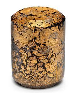 Tea Japan, Feng Shui, Japanese Screen, Art Japonais, Edo Period, Tea Caddy, Antique Boxes, Westerns, Art Uk
