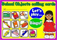 ESLCHALLENGE - ENGLISH TEACHING RESOURCES   - BINGO FUN http://eslchallenge.weebly.com/packs.html