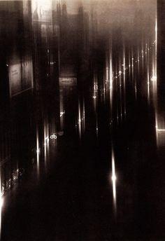Steichen, Edward (1879-1973) - 1925 Drizzle on 40th Street, NY by RasMarley, via Flickr