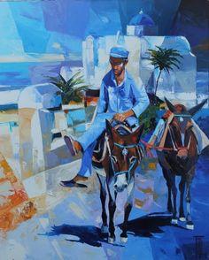 Por amor al arte: Pierrick Tual Painting, Fictional Characters, Painters, Contemporary Art, Artists, Oil, Painting Art, Paintings, Fantasy Characters