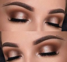 Bronze Eyeshadow Makeup For Brown Eyes