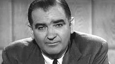 1950: Senator Joseph McCarthy carries out a crusade against alleged communists in government and public life; the campaign and its methods become known as McCarthyism [PES]