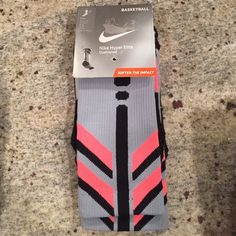 Nike Hyper Elite Basketball Cushioned Crew  Socks. Nike Hyper Elite Basketball Cushioned Crew  Socks. Nike Accessories Hosiery & Socks