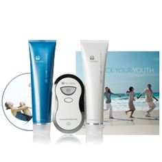 ageLOC Body Spa Package   Contains:  1 ageLOC Galvanic Body Spa  1 ageLOC Body Shaping Gel  1 ageLOC Dermatc Effects  1 ageLOC Unlock Your Youth brochure  1 ageLOC DVD