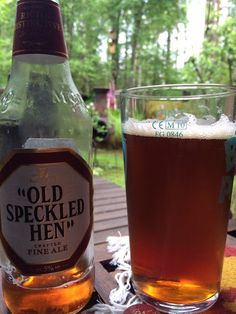 Old Speckled Hen Crafted Fine Ale