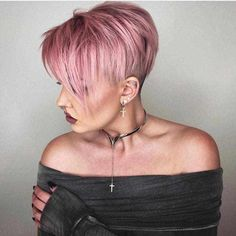Today we have the most stylish 86 Cute Short Pixie Haircuts. We claim that you have never seen such elegant and eye-catching short hairstyles before. Pixie haircut, of course, offers a lot of options for the hair of the ladies'… Continue Reading → Very Short Hair, Short Hair Cuts For Women, Short Hairstyles For Women, Short Hair Styles, Short Cuts, Short Pixie Haircuts, Pixie Hairstyles, Undercut Pixie Haircut, Haircut Short
