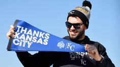 Kansas City celebrates Royals' World Series championship with parade 9h - MLB ALEX GORDON -    The world champion Kansas City Royals basked in the adulation of hundreds of thousands of ecstatic fans Tuesday in a parade and rally that nearly shut down downtown for hours.