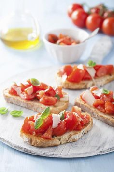 H4H Harmony for Home: Bruschetta
