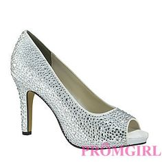 Eliza White at PromGirl.com  #promgirl #shoes #heels