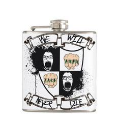 ZachAttack Family Crest! Flask