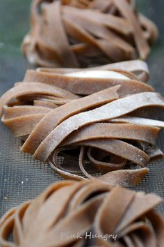 chestnut flour pasta recipe