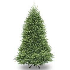 At a full foot shorter than a standard tree, this Dunhill Fir is easy to decorate as even top branches are in reach. This full body tree features a generous number of branch tips for holding holiday trimmings. Easy assembly with metal tree stand.