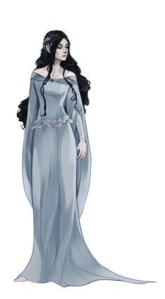 I'm undecided on who this is... I'm leaning towards Luthien or maybe Melian...