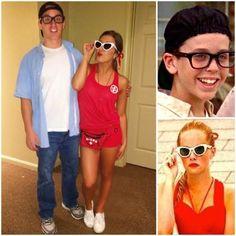 Squints & Wendy Peffercorn Halloween Costume #TheSandlot #Lifeguard #Baseball #DIYHalloweenCostume #LastMinuteCostume #Squints #WendyPeffercorn #DynamicDuos #CouplesCostume #Pairs #CostumeForTwo