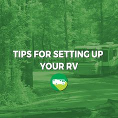 We've compiled some tips for setting up your RV for you on what to do before you leave and once you arrive to make setting up your RV go smoothly! Camper Life, Rv Campers, Rv Life, Happy Campers, Camping Places, Camping And Hiking, Camping Tricks, Camping Stuff, Camping Ideas