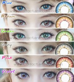 Our top best selling cosmetic colour lenses. Puffy colour contact lenses unique 3 Tones designed lens blends naturally and give you that big eye effect look Contact Lenses For Brown Eyes, Special Effect Contact Lenses, Natural Contact Lenses, Best Contact Lenses, Cosmetic Contact Lenses, Best Colored Contacts, Color Contacts, Eye Color Chart, Cosplay Contacts