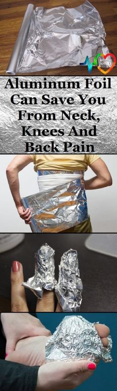 Aluminum foil has healing properties, and this thing was acknowledged by Russian and Chinese healers. The treatment will help with various health problems.