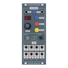 Home of Sputnik Modular Eurorack Synth Modules including Oscillator, Quad Function & Trigger source, Four-Tap Delay, Quad VCF/VCA...