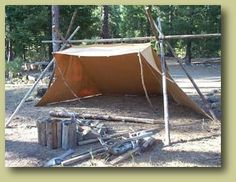 Whelen Style Camping Lean-to Tent Survival Shelter… Bushcraft Camping, Camping Survival, Outdoor Survival, Survival Prepping, Survival Skills, Survival Hacks, Survival Gear, Bushcraft Backpack, Survival Essentials