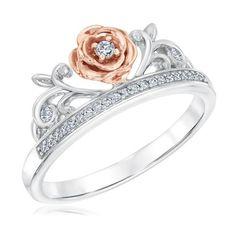 Enchanted Disney Diamond Belle Princess Ring 1/10ctw - Item 19705573 | REEDS Jewelers