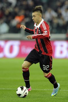 Stephan El Shaarawy dribbles with grace via thesoccerstuff.tumblr.com
