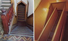 Winchester_Mystery_House_San_Jose_California Winchester Mystery House, Winchester Homes, Stair Shelves, Mansion Tour, San Jose California, House Painter, Strange Places, House Built, Abandoned Places