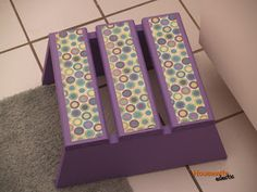 Tutorial- How To Make A Cute Step Stool