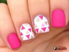 25 Latest & Stylish Pink Nail Art Ideas - The First Part -