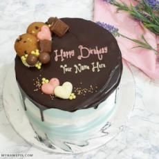 Plus You With Name Birthday Cake Write Name, Birthday Wishes With Name, Friends Birthday Cake, Birthday Cake Writing, Cake Name, Birthday Cake Girls, Birthday Balloons, Birthday Greetings, Birthday Cards
