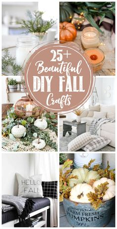 Beautiful DIY fall c