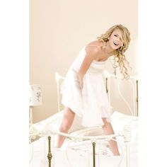 Taylor Swift 2008 Fearless Album Photoshoot ❤ liked on Polyvore
