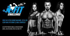 Sustine-ti echipa preferata in competitia Pro Nutrition Fit Challenge!