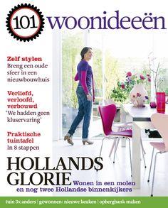 Cover Dutch creative interior magazine 101Woonideeen 05-2011