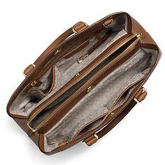0ef93502eb6f Buy MICHAEL Michael Kors Savannah Large Leather Satchel Online at johnlewis.com  Michael Kors Savannah