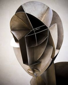 Sculpture by Naum Gabo, Constructivism Sculpture Metal, Abstract Sculpture, Wire Sculptures, Sculpture Garden, Sculpture Projects, Modern Art, Contemporary Art, Cubism Art, Inspiration Art