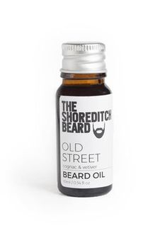 Old Street beard Oil;  Trying to capture the beauty of East London in a bottle is no easy task, but our musky, Old Street Beard Oil, with hints of a whisky and wine-like aroma, will have you feeling like an East Londoner no matter which part of the world you're in.