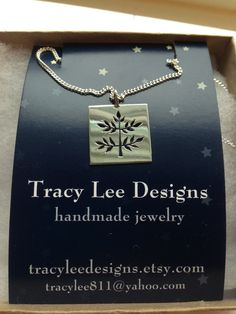 """""""Peace Tree Necklace"""" by Tracy Lee Designs A Beautiful necklace by local artist! TracyLeeDesigns.etsy.com"""