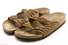 Birkenstock GRANADA Womens Sandals Size 42 11 nubuck leather ankle strap mens 9 @eBay
