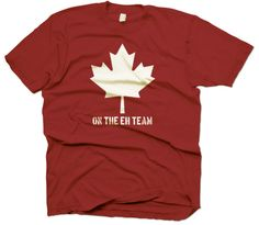 gotta love this after the Canadians pulled off the win at the Olympics (as if they had a choice... can you imagine if they lost??) Plus, my hubby is Canadian so its a good one.