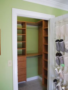 best storage for small bedrooms small bedroom closet storage ideas closet bedroom closet ideas luxury best ideas about small closet design on small space storage ideas for small closet space storage i Reach In Closet, Tiny Closet, Small Closets, Corner Closet, Boys Closet, Open Closets, Small Deep Closet, Maximize Closet Space, Family Closet