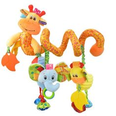 Baby Plush Toy Music Bed Bell With BB Device Giraffe Around The Bed For Newbron