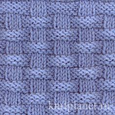 I love simple patterns made of knits and purls - Basket (Wicker) Stitch Pattern knitting pattern chart, Squares, Diamonds, Basket Stitch Patterns Discussion on LiveInternet - Russian Service Online diary - DIY Fashion Pictures This is the easiest baby bl Baby Knitting Patterns, Knitting Stiches, Knitting Charts, Easy Knitting, Loom Knitting, Stitch Patterns, Crochet Patterns, Knit Stitches, Start Knitting
