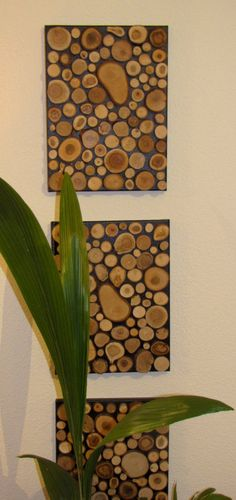 Awesome Mural of wood panes