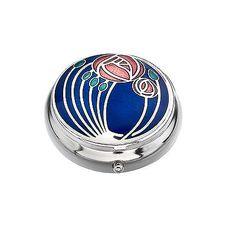 Rennie Mackintosh Rose Trinket/Pill Box