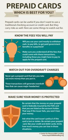 prepaid cards which is best for you infographic credit check website - Get A Prepaid Card